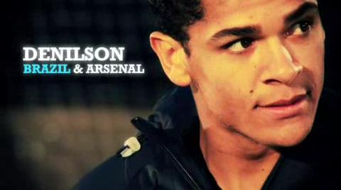 Click to play Nike Futsal Shoes Video - Denilson Brazil Arsenal